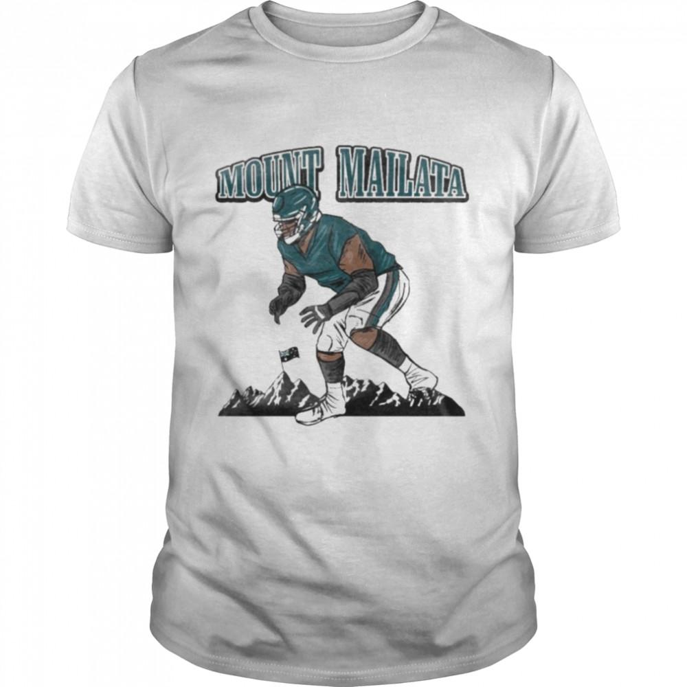 Philadelphia Eagles Mount Mailata  Classic Men's T-shirt