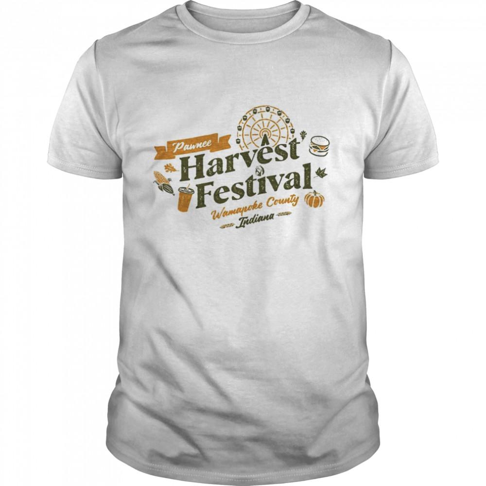 Pawnee harvest festival shirt Classic Men's T-shirt