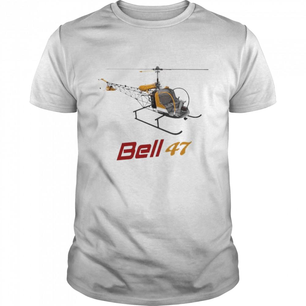 Bell 47 Helicopter shirt Classic Men's T-shirt