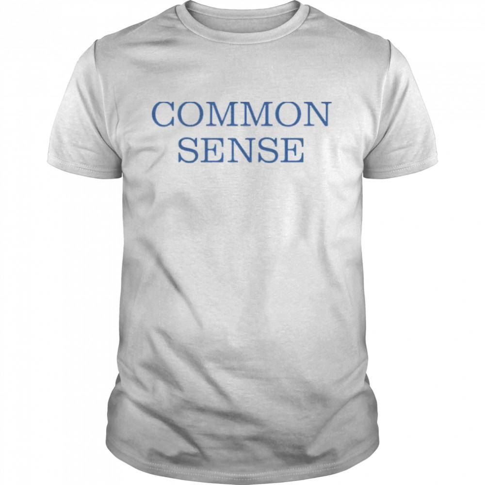 Common Sense shirt Classic Men's T-shirt